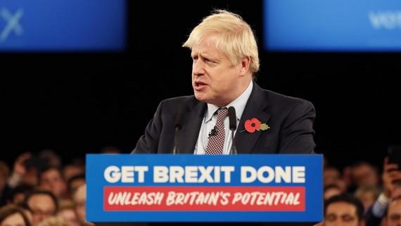 英國首相約翰遜。(圖源:AP)