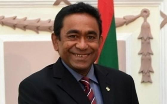 馬爾代夫前總統阿卜杜拉‧亞明。(圖源:互聯網)