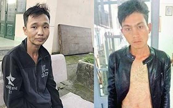 被抓獲的兩名劫匪黃文雄(左圖)及阮煌輝。(圖源:警方提供)