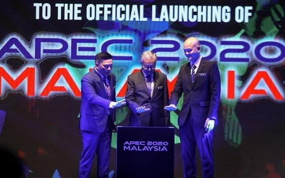 2020 APEC 啟動儀式現場一瞥。(圖源:The Star)