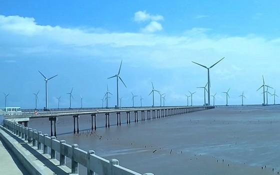 圖為薄寮省風力發電場一瞥。(圖源:互聯網)