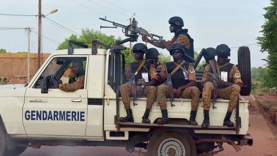 布基納法索軍隊人員。(圖源:互聯網)