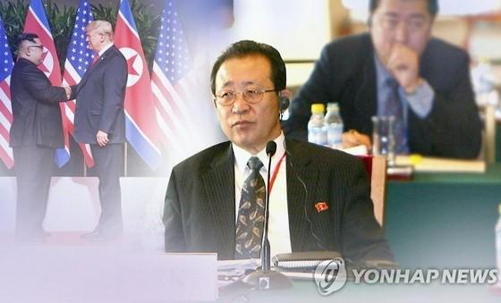 朝鮮外務省顧問金桂官。(圖源:韓聯社)