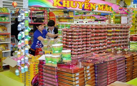 Co.op mart超市各種年貨供應充足。