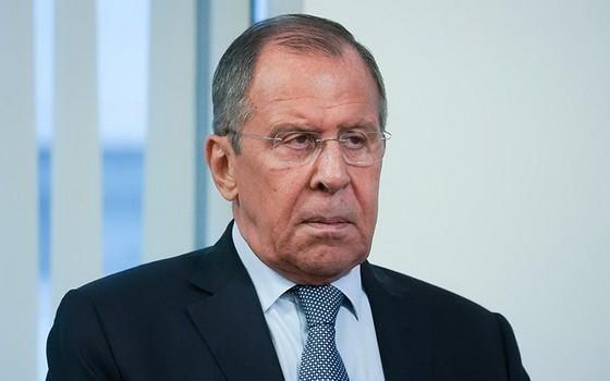 俄羅斯外長拉夫羅夫。(圖源:Getty Images)