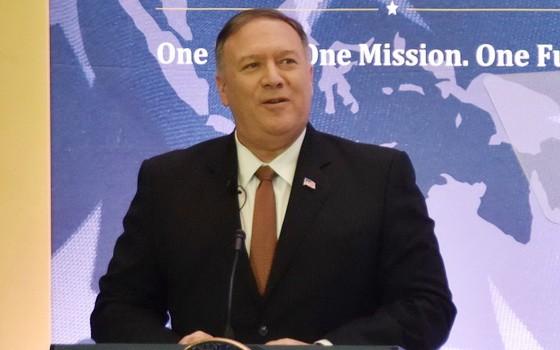 美國國務卿蓬佩奧。(圖源:互聯網)