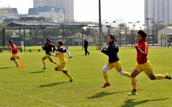 越南女足隊在集訓。(圖源:互聯網)