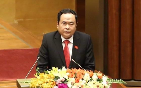 黨中央書記、越南祖國陣線中央委員會主席陳清敏。(圖源:國慶)