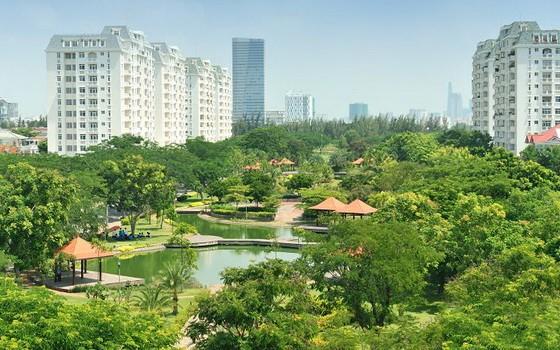 圖為富美興都市區的南園公園一瞥。(圖源:秋莊)