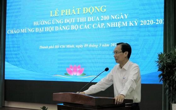 市人委會常務副主席黎清廉在儀式上致詞。(圖源:明舒)