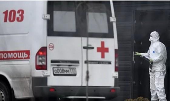 俄羅斯新冠病毒疫情防控人員。(圖源:Ria Novosti)