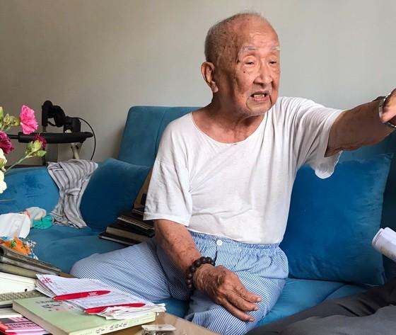 華人革命老前輩韓阿輝。