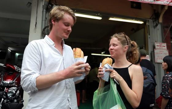 西貢麵包深受遊客喜愛。(圖源:玉陽)