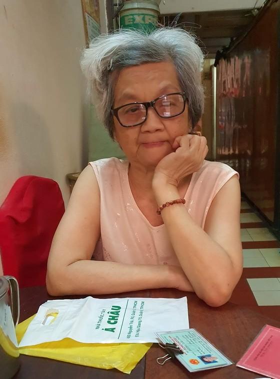 張珠珍述說她的困境。