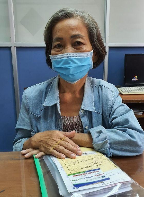 鍾麗娟到報社請求協助。