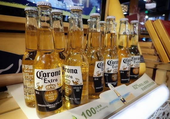 墨西哥的一款著名啤酒品牌 Corona 暫停生產。(圖源:互聯網)