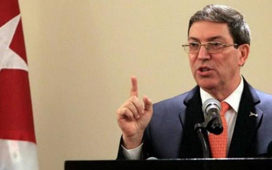 古巴外交部長羅德里格斯。(圖源:互聯網)