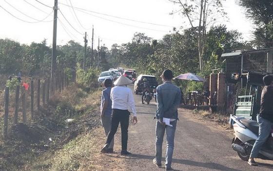 土地熱潮期間,前往巴地-頭頓省周德縣平波鄉看地的人車絡繹不絕。