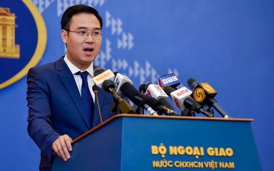 外交部副發言人吳全勝。(圖源:VOV)