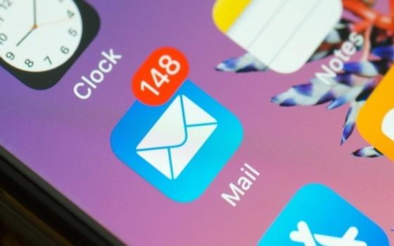 蘋果郵件APP有漏洞 5億iPhone用戶小心被駭。(示意圖源:互聯網)