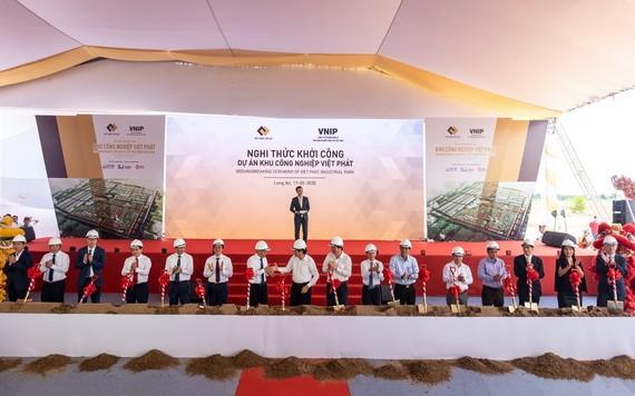 在隆安啟動越發工業區1800公頃項目。
