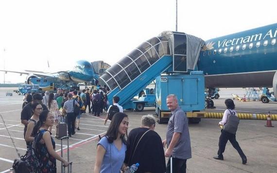 乘客登機場景。(示意圖源:豐田)