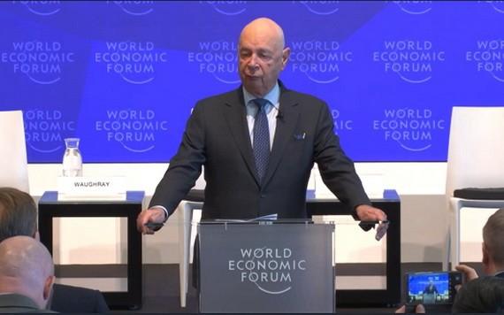 達沃斯論壇創始人施瓦布。(圖源:DAVOS)