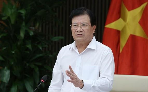 政府副總理鄭廷勇發表指導會議。(圖源:VGP)