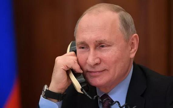 俄羅斯聯邦總統弗拉基米爾‧普京。(圖源:俄羅斯大使)