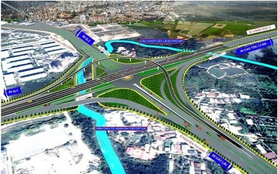 圖為第二郡美水交通樞紐總體設計圖。(圖源:TCIP)