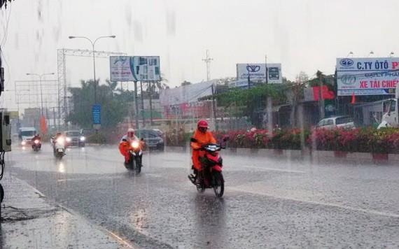 國家水文氣象預報中心:包括本市的南部區域在未來10天內降雷陣雨。(示意圖源:互聯網)