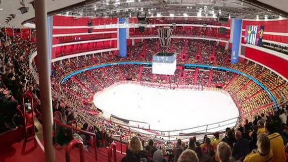 比賽場館內景。(圖源:互聯網)