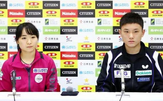 伊藤美誠和中國交手的勝率是36%,張本智和為40.4%。(圖源:互聯網)