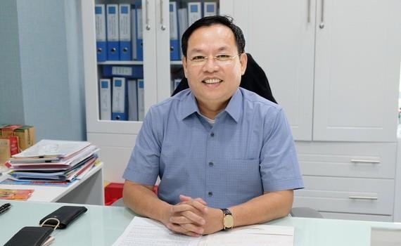 市商業聯合社董事長葉勇。(圖源:胡志明市婦女報)