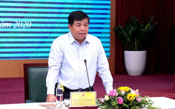 計劃與投資部部長阮志勇。(圖源:VGP)