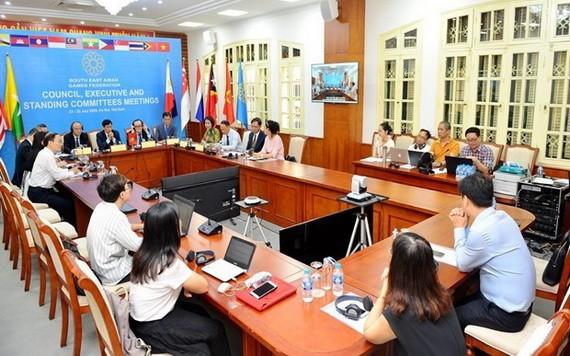 東南亞體育聯合會執行委員會會議。(圖源:互聯網)