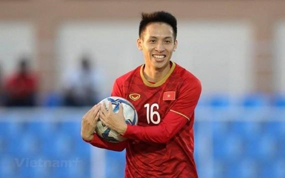 前衛杜雄勇代表越南參加鼓勵人們保持健康生活方式的活動。(圖源:互聯網)