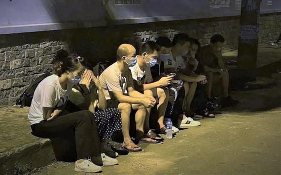 非法入境的中國公民被查獲。(圖源:警方提供)