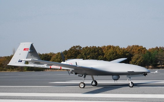 圖為土耳其 Bayraktar TB2 無人機。(圖源:Getty Images)