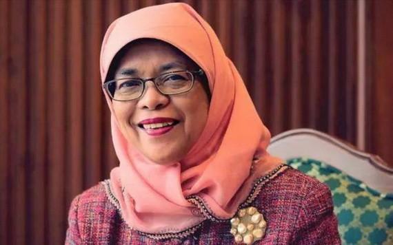 新加坡共和國總統哈莉瑪‧雅各布。(圖源:互聯網)