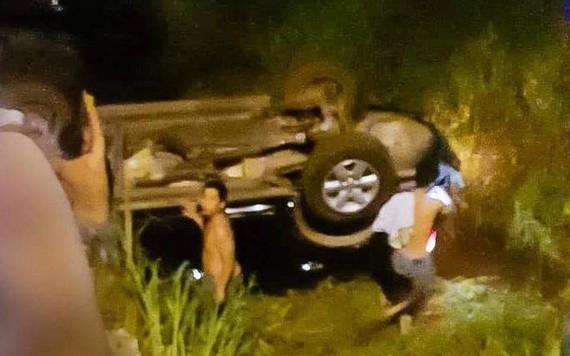 事故現場。(圖源:X. Hoàng)