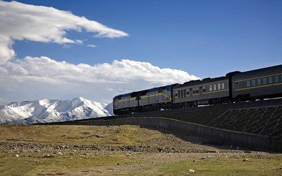 中國北京-拉薩直達列車