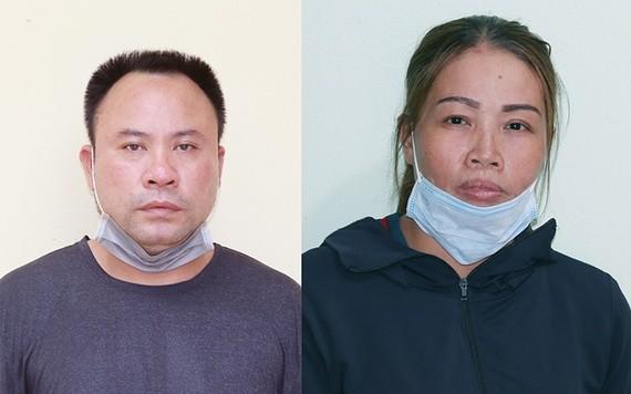 被捕的2名嫌犯潘文拾(左圖)及武氏雲。(圖源:警方提供)