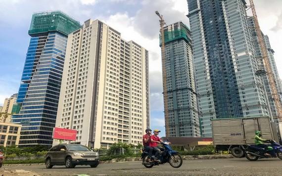 興建中的公寓。(圖源:互聯網)