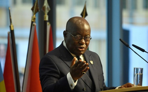 西非國家經濟共同體(西共體)主席、加納總統阿庫福-阿多。(圖源:路透社)