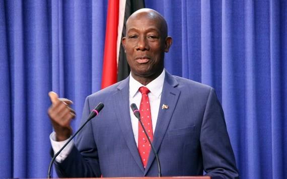 千里達及托巴哥共和國總理基思‧羅利爵士。(圖源:Getty Images)