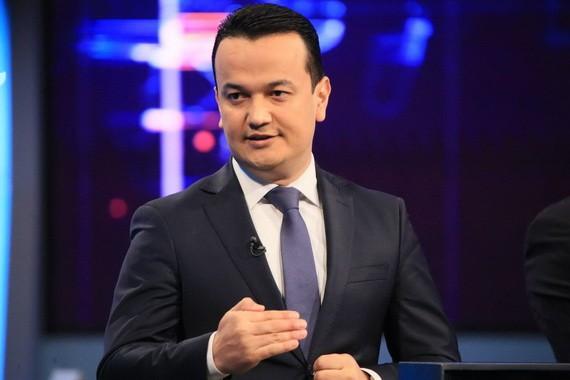 烏茲別克斯坦投資和外貿部第一副部長庫德拉托夫。(圖源:互聯網)