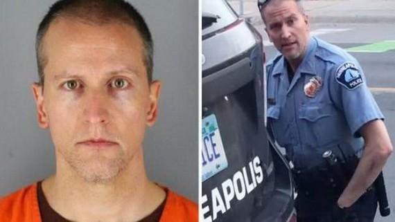 美國明尼阿波利斯市前警察德雷克·肖萬在繳納了100萬美元保釋金後獲釋。(圖源:互聯網)