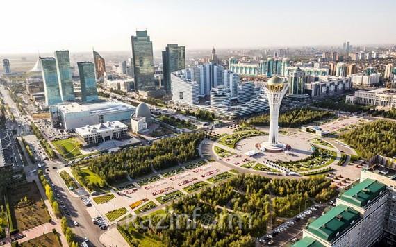 圖為哈薩克斯坦首都努爾-蘇丹。(圖源:互聯網)