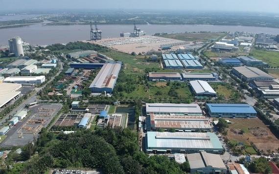 協福工業區一隅。